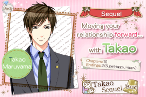 Takao's Sequel Screen
