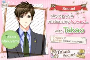 Takao's Sequel Screen
