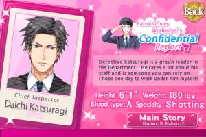 Daichi Katsuragi Info Screen