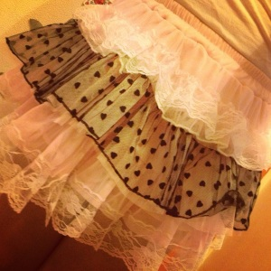 Lolita style Fashion Skirt