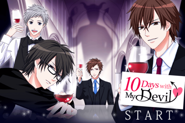 10 Days with my Devil Start Screen Voltage Inc