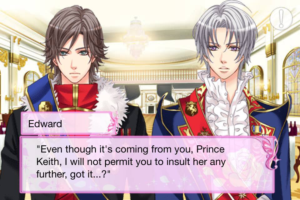 Prince edward be my princess voltage ince main story
