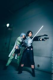 Kirito Gun Gale Online GGO - Sword Art Online SAO2 Cosplay 01