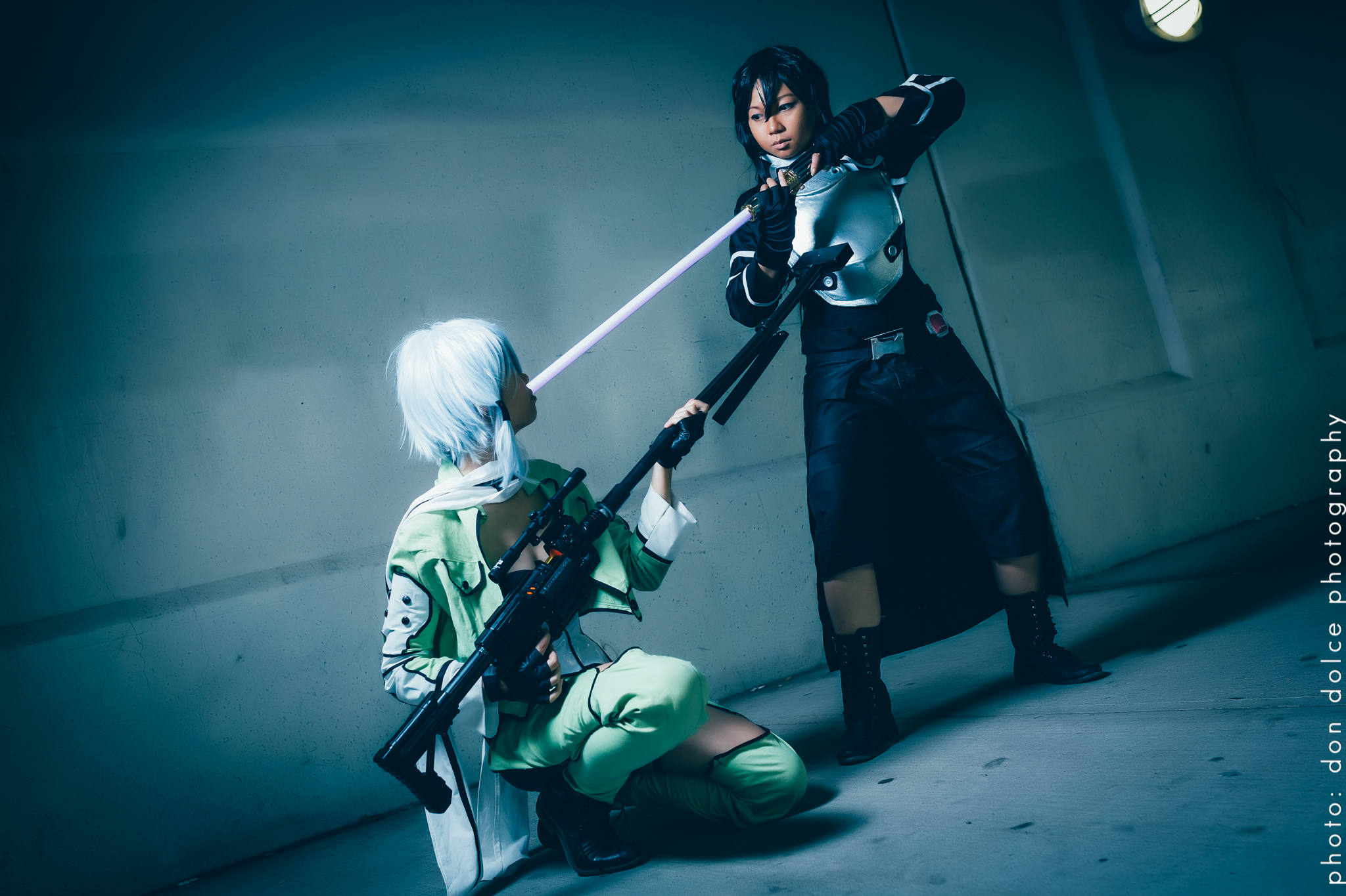 gun gale online kirito from sword art online 2 cosplay photo shoot with auudesu don dolce. Black Bedroom Furniture Sets. Home Design Ideas