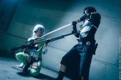 Kirito Gun Gale Online GGO - Sword Art Online SAO2 Cosplay 04