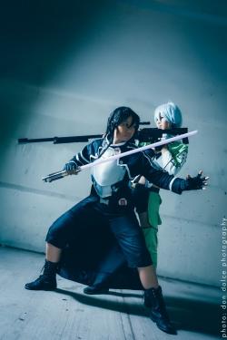 Kirito Gun Gale Online GGO - Sword Art Online SAO2 Cosplay  06