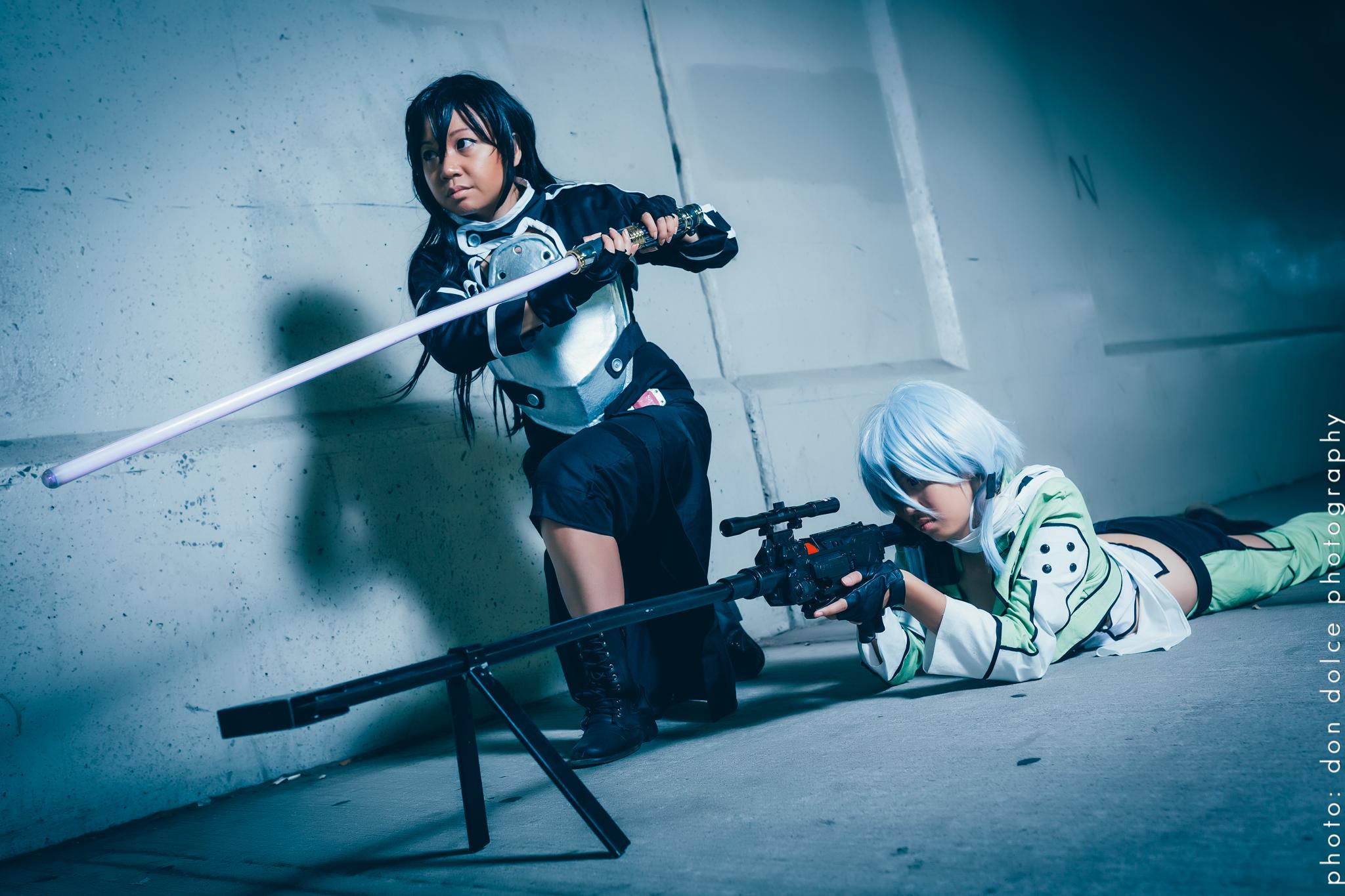 Kirito gun gale cosplay