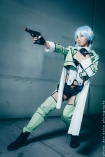 Sinon Gun Gale Online GGO - Sword Art Online SAO2 Cosplay