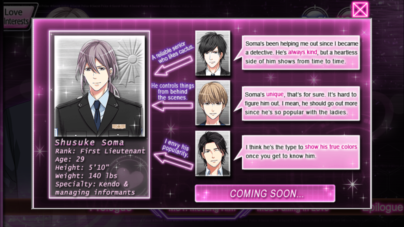 Her love in the Force – Voltage Inc – New Otome Game Alert
